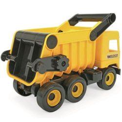 Wader: Middle Truck billenős dömper 43 cm - sárga