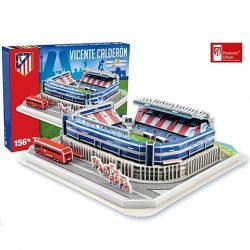 GP: Atletico Madrid Vicente Calderon Stadion 3D pu
