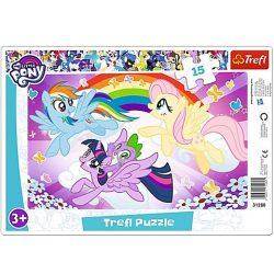 Trefl: Én kicsi pónim, Szivárvány kaland puzzle -