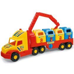 Wader: Super Truck szelektív szemétgyűjtő