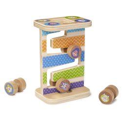 Melissa & Doug Fa készségfejlesztő játék, Cikk-cakk torony