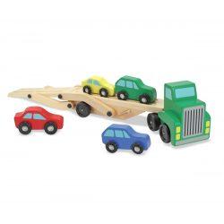 Melissa & Doug Fa jármű, Autószállító
