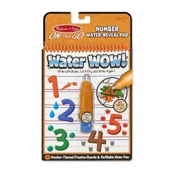 Melissa & Doug Kreatív játék, Rajzolás vízzel, számok