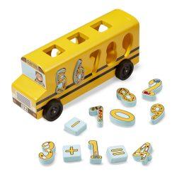 Melissa & Doug Fa jármű, Számos formarendező iskolabusz