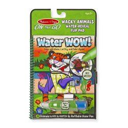 Melissa & Doug Kreatív játék, rajzolás vízzel, különleges állatok