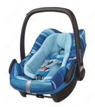 """Maxi Cosi Pebble Plus hordozó és autósülés 0-75 cm """"Watercolour blue"""""""