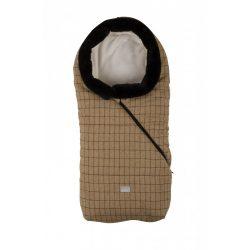 Nuvita Junior Pop bundazsák 100cm - Checkered Honey / Beige - 9635