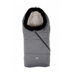 Nuvita Junior Pop bundazsák 100cm - Pinstripe Light Grey / Beige - 9635