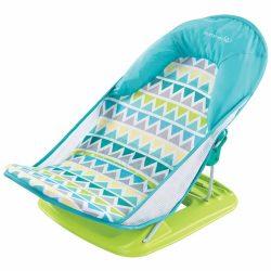Summer Infant Triangle Stripes kék babafotel kádba