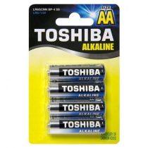 Toshiba High Power alkáli elem AA/4db