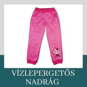 Waterproof kids pants