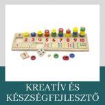 Kreatív és készségfejlesztő játékok