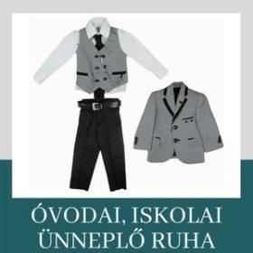 Óvodai és iskolai ünneplő ruha