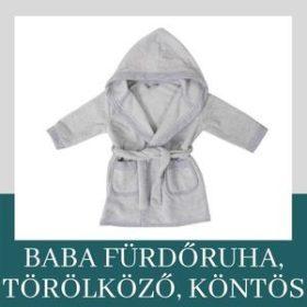 Gyerek fürdőruha, törölköző, köntös