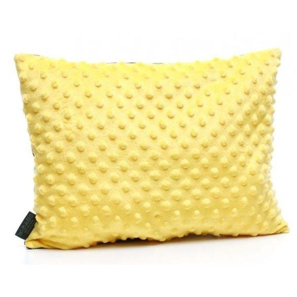 Pihe-puha minky párna - Felhős égbolt sárga 594687e46c