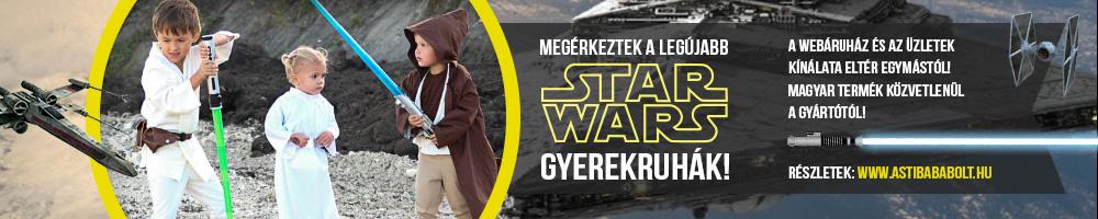 Star Wars gyerekruhák